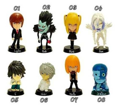 action figure death note