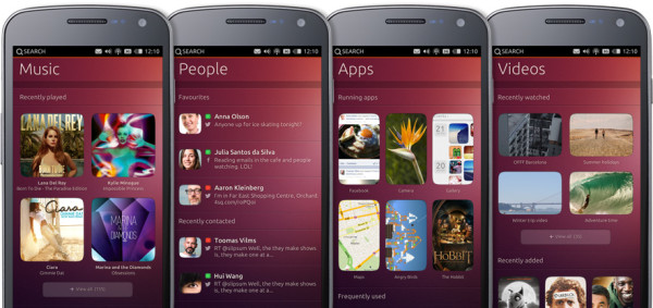 ubuntu phone 600x283 Ubuntu For Phones
